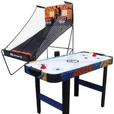 Table Basketball Basketball Hoop U0026 Air Hockey Table Bundle