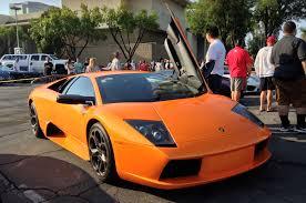 Lamborghini Murcielago Orange - the 29 coolest lamborghinis we saw in the canyons near malibu