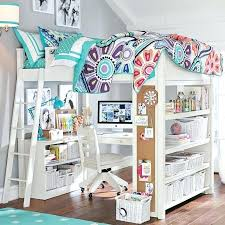 savannah storage loft bed with desk white and pink white loft bed with desk loft beds with desk and couch image of