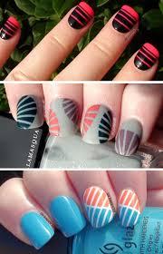 striping tape nail art designs nail art ideas pinterest best