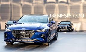meet the all new 2019 genesis g70 luxury sedan