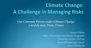 Challenge Risks Climate Change A Challenge In Managing Risks Cchange