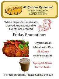 promo cuisines friday promotions d cuisines sia sports