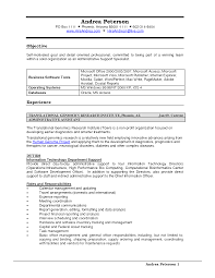 Sample Resume Administrative Support Administrative Support Resume Sales Support Lewesmr