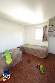 bardage bois chambre cottage trigano bardage bois 1 chambre avec lit 140 et 1 chambre