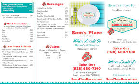 Lake Havasu Map Sam U0027s Place 362 London Bridge Rd Lake Havasu City Az Restaurants