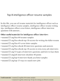 Military Resume Writing Military Intelligence Resume Resume For Your Job Application