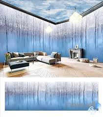 wallpaper for entire wall art woods theme space entire room wallpaper wall mural decal idcqw