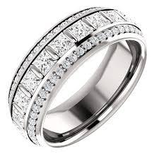 Platinum Wedding Rings by S127667pp Princess Platinum Diamond Eternity Ring