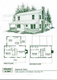 log home package kits log cabin kits santa fe trail model