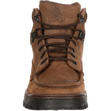 rocky outback gore tex waterproof field boots style 8723