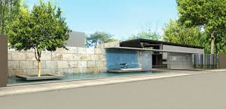 modern lake house outdoor oriented dream home office implants modern african