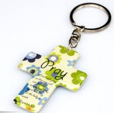 christian gifts wholesale key chain christian souvenir gift cross key ring christian