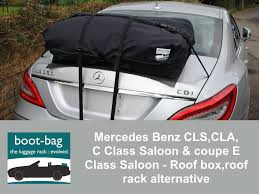 mercedes c class roof bars mercedes cls c class saloon e class saloon roof box