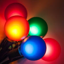 patio lights multicolor satin party lights 33 g50 e12 bulbs