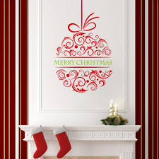 brilliant 90 christmas wall decorations inspiration of deck your