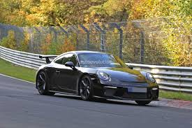 green porsche 911 look mom no camo 2017 porsche 911 gt3 facelift 991 2 spied at
