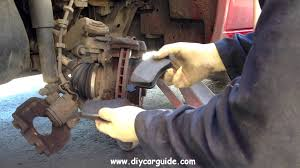 volkswagen transporter front brake pads replacement youtube