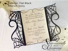 templates halloween wedding invitations etsy together with free