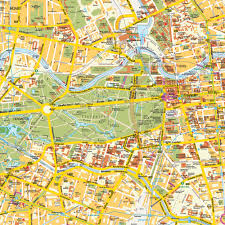 Germany City Map by Map Berlin City Center Germany Central Downtown Maps And