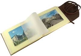 Photo Pages 4x6 Rustic Leather Photo Albums Leather Scrapbook Albums