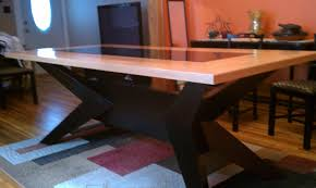 kitchen table extraordinary wood farm table custom made dining