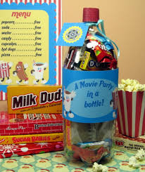 movie party in a bottle homemade christmas gifts the happy