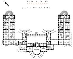 Architectural Building Plans by Alexander Palace Tsarskoye Selo Main Floor Photo By Mikehr Uk