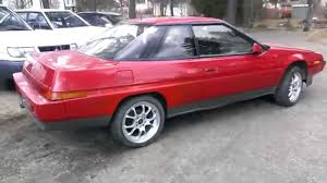 1986 subaru xt subaru xt first start after winter storage youtube