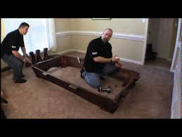 Pool Table Disassembly by Legacy Pool Table Assembly Part 1 Youtube