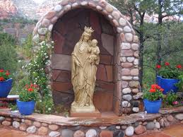 outdoor garden statues of mary home outdoor decoration