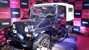 mahindra latest jeep models in india mahindra thar upcoming car