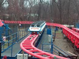 Six Flags Giant 2016 Neuheit Fireball Giant Loop Larson Six Flags New
