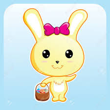 cute easter bunny royalty free cliparts vectors and stock