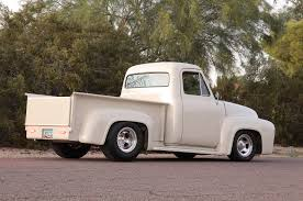 Old Ford Truck Games - a classic 1953 ford f 100 pickup with a very unique powerplant