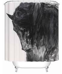 Horse Shower Curtains Sale Found It At Wayfair Winchester Horse And Rider Shower Curtain