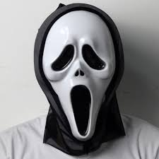 Ebay Halloween Props Opening Mouth U0026 Long Tongue Scream Ghost Scary Face Mask Halloween