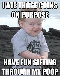 I Want A Baby Meme - evil baby meme dumpaday 5 dump a day