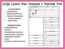 lesson plan template gelds ccss lesson plan template business template ideas