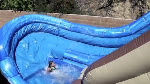 tree house waterslide u turn water slide rental magic jump