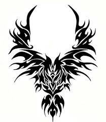38 best fire phoenix tribal tattoo images on pinterest fire