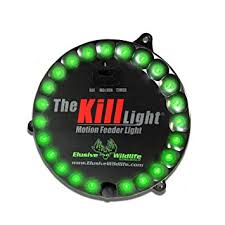 hog hunting lights for feeder amazon com the kill light motion activated feeder light green