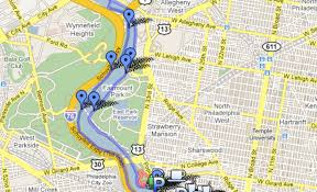 Map Of Philly Philly Runners Other Area Maps