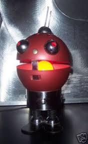 v rare stilfer milano italy space robot vintage light fratelli