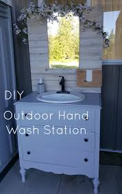 Diy Outdoor Sink Station by Denison Ridge Weddings U0026 Events Page 2 Of 19 Perfecting Dreams