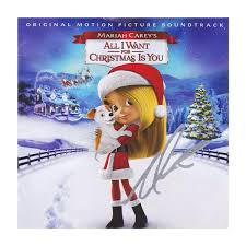 christmas cd carey merry christmas cd with autographed insert