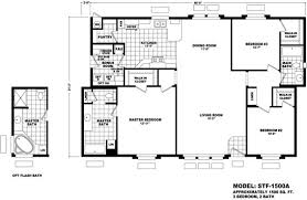 New Home Floor Plans And Prices Floor Plan Stf 1500a Santa Fe Durango Homes Built By Cavco