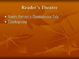 thanksgiving 4th grade o neal ppt