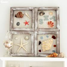 diy nautical decor beach themed shadowboxes