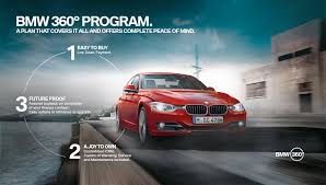 bmw car program bmw 360º program launched in india with 3 series 5 series x3 on